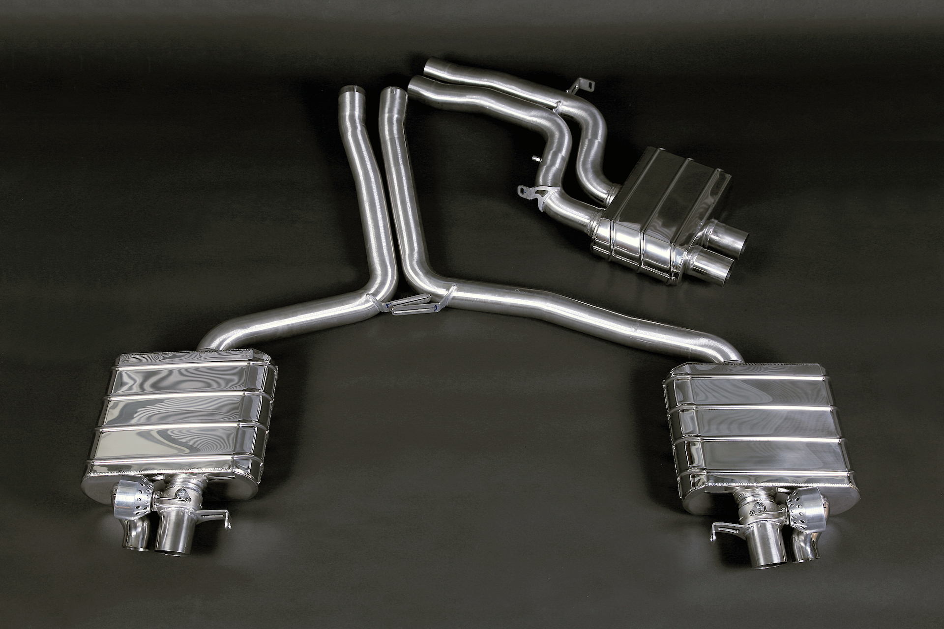 Capristo RS5 (B8) Valved Exhaust System & Mid-Pipes (No Remote)