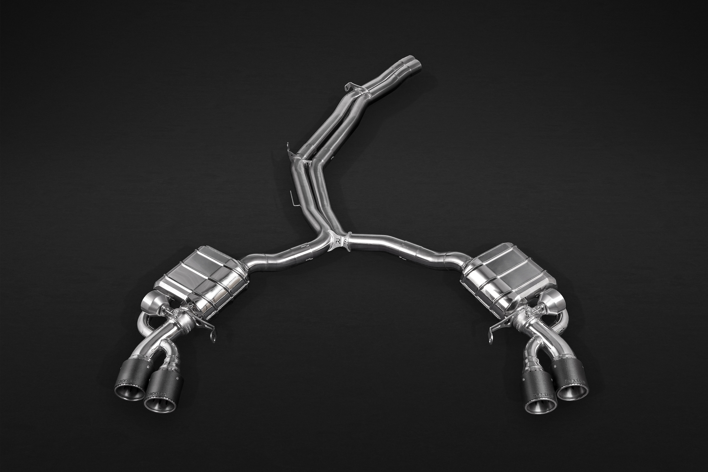 Capristo RS5 (B9/F5) Valved Catback Exhaust System, Carbon Tips, with E2P