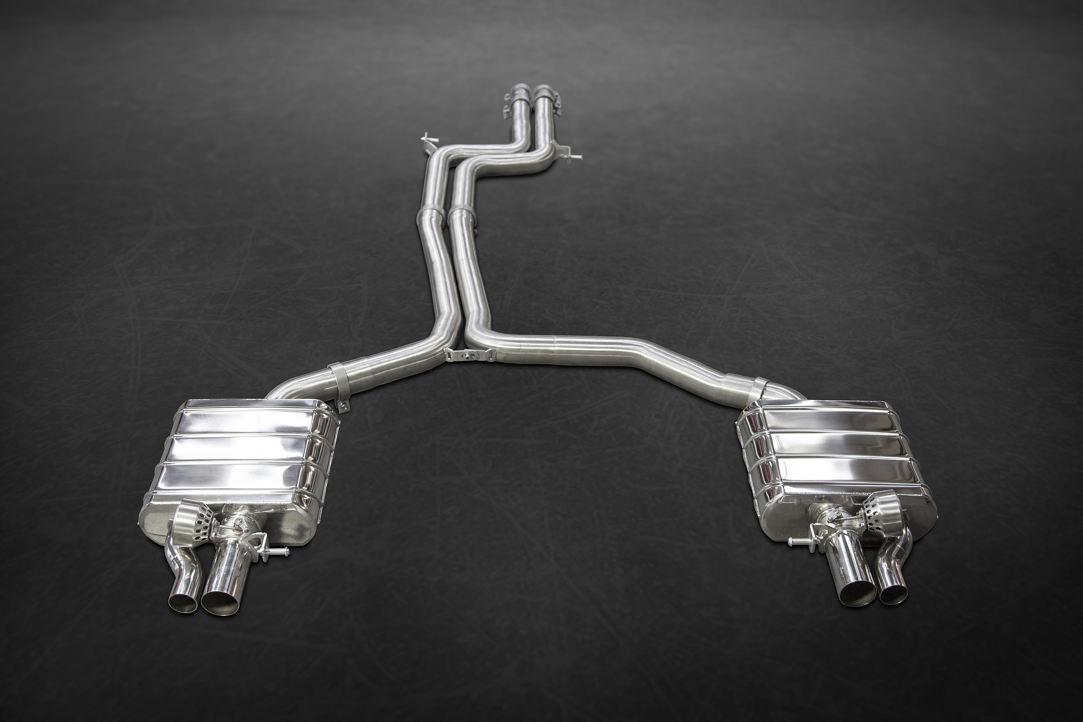 Capristo RS6/RS7 (C7) Valved Exhaust System (incl. remote)