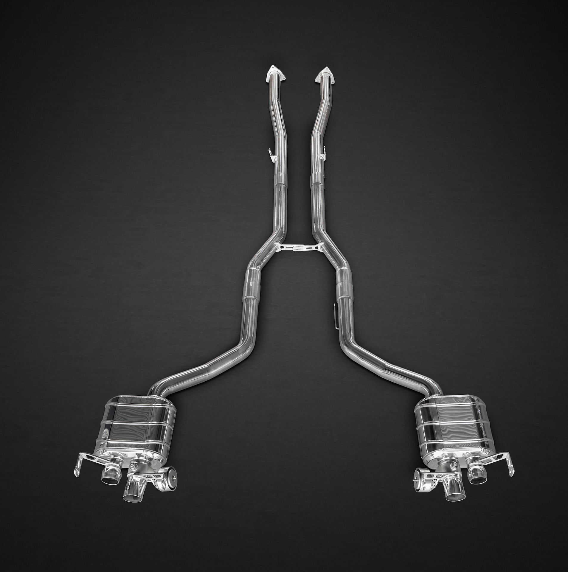 Capristo Bentley Continental GT V8 (S) Valved Exhaust System (No Remote)