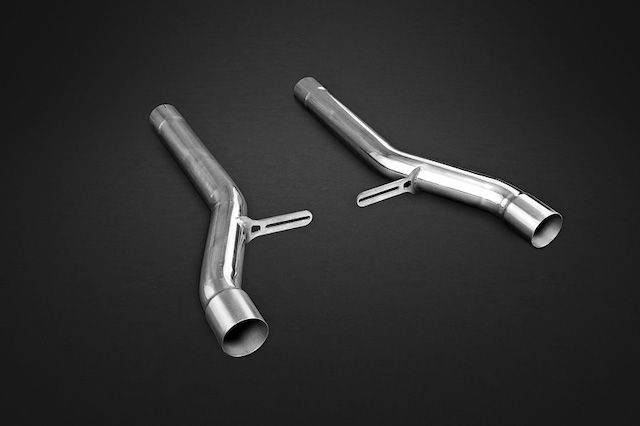 Capristo Bentley Continental GT V8 ( S) Middle silencer replacement pipes