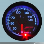 Backlit Oil Pressure Gauge