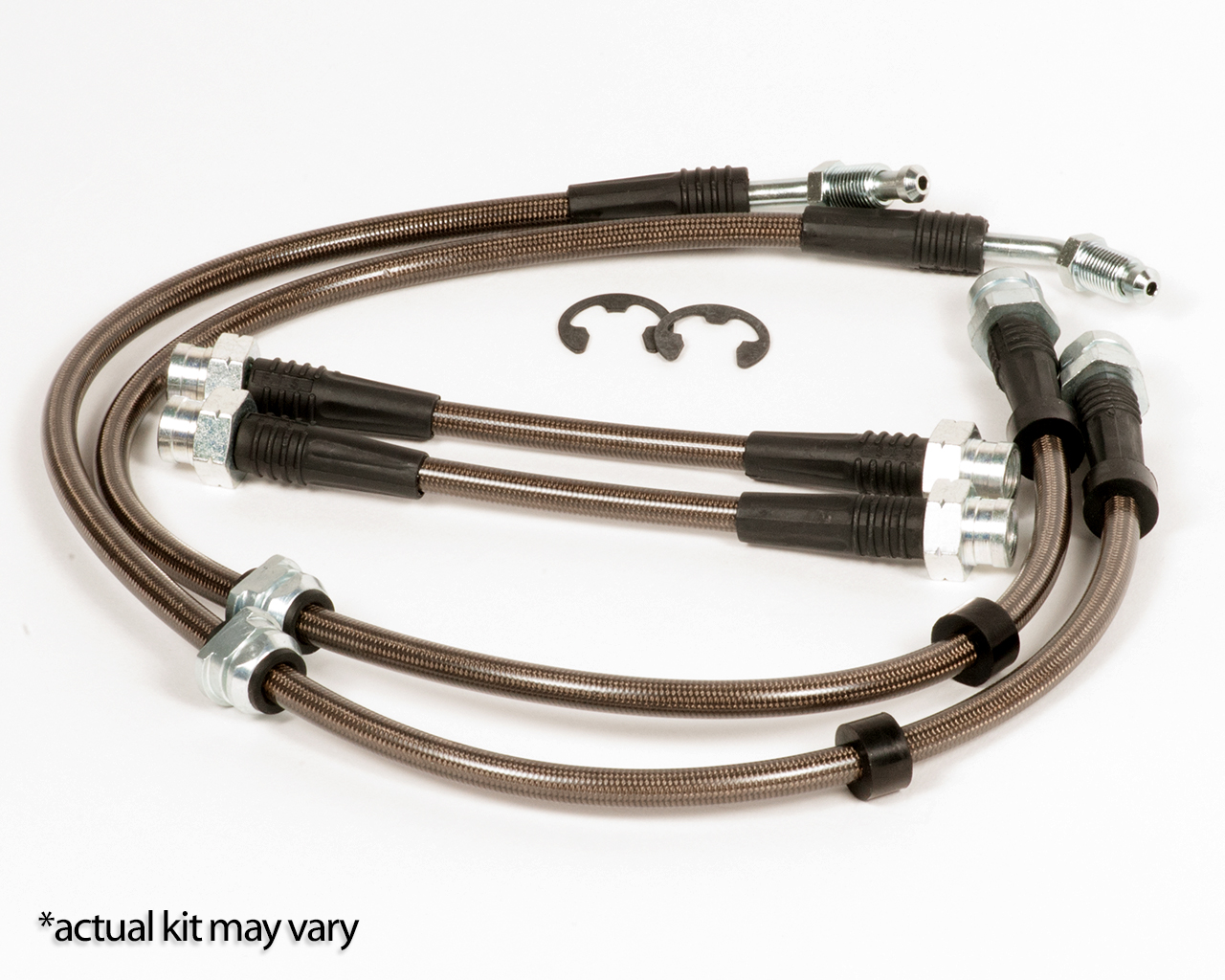 Tyrolsport Stainless Brake Line Kit, MK7 Golf R and Audi S3 (MK6 11+)