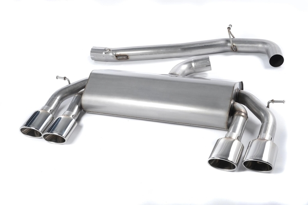 Milltek MK7 Golf R Cat-Back Non Valved Exhaust