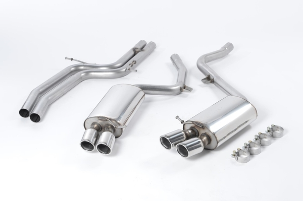 Milltek B8 S5 4.2L Cat Back Exhaust